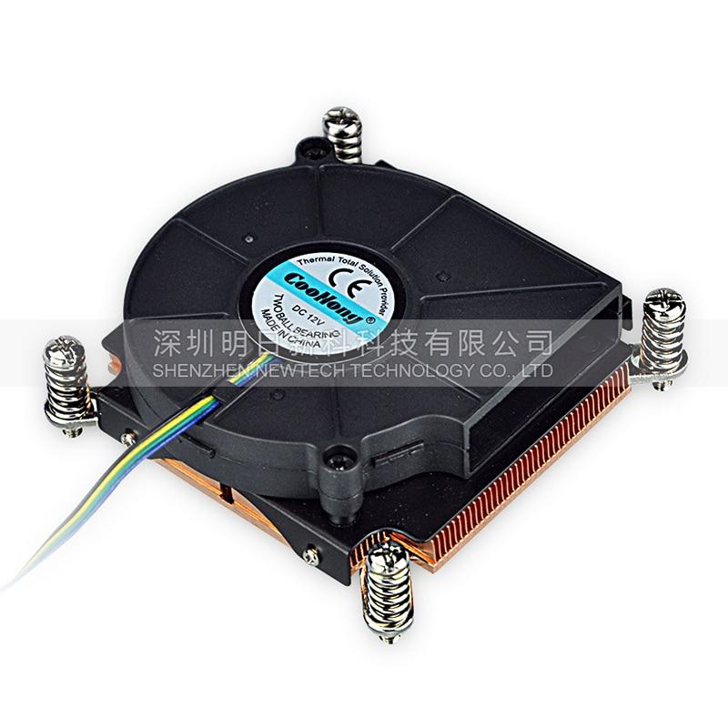 1U server Kompüter Mis Radiator CPU soyuducu soyuducu qızdırıcı intel LGA 2011 X99 Aktiv soyutma üçün