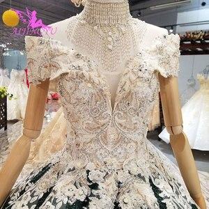 Image 5 - AIJINGYU ciążowe suknie ślubne w stylu Vintage suknia nowy dla nowożeńców Boho Chic nosić suknie ślubne w stylu Vintage sukienka z rękawami