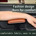 Кожаное сиденье для водителя автомобиля  подлокотник левой руки для Ford Focus 2 3 VW Passat B6 B5 B7 B8 Touran Toyota Avensis Mazda 3 6