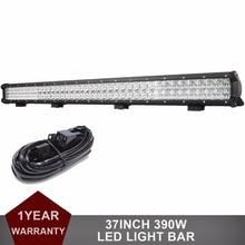 37INCH Offroad LED Light Bar 12V 24V Car Truck ATV UTE AWD UTV 4X4 4WD Trailer Wagon Pickup Boat SUV Tractor 390W Driving Lamp