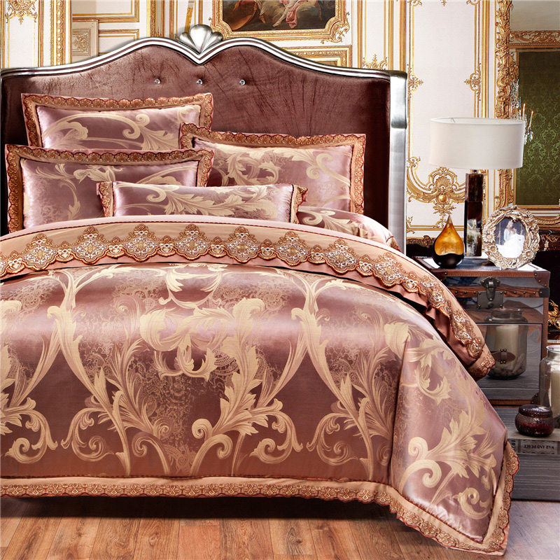 Online Cheap Gold King Size Comforter