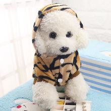 2017 Hot New Small Pet Dog Cat Puppy Warm Sweater Hoodie Jumper Coat Fleece Puppy clothes Costume Apparel