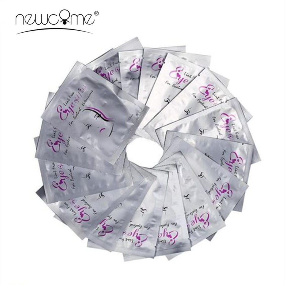 20/30/50/100pcs Eyelash Extension Under Eye Pads Paper Patch Eye Tips Sticker Wraps New Paper Patches for Eyelash Makeup Tools 目