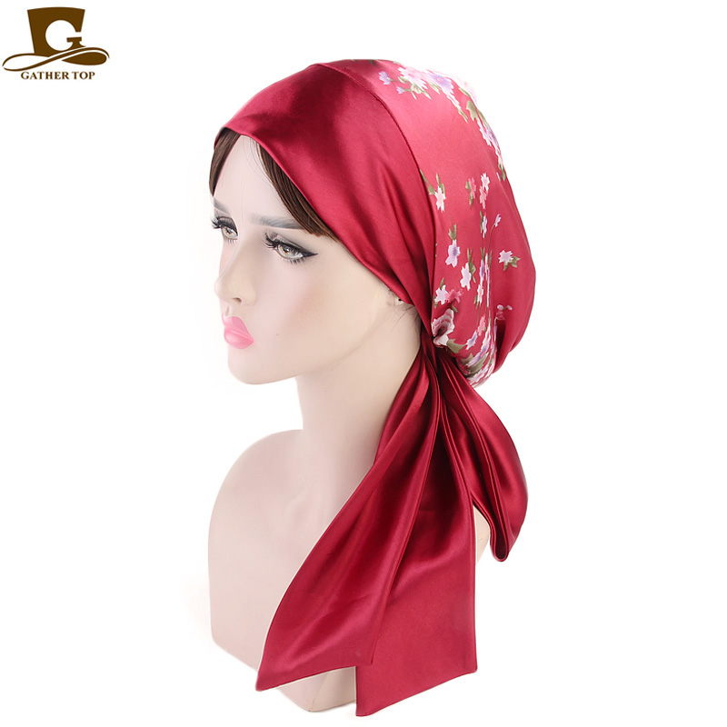 Plain Fitted Elastic Head Scarf Bandana 100/% Polyester Fashion Accessories