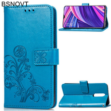 For Oppo RX17 Pro Case Silicone Luxury PU Leather Anti-knock Wallet R17 Cover Phone Bag