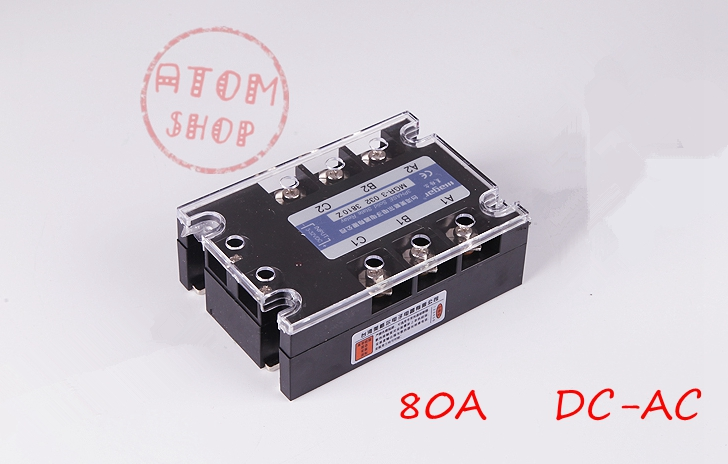 Three-phase solid state relay DC -AC MRSSR-3 MGR-3 032 3880Z 80A genuine three phase solid state relay mgr 3 032 3880z dc ac dc control ac 80a