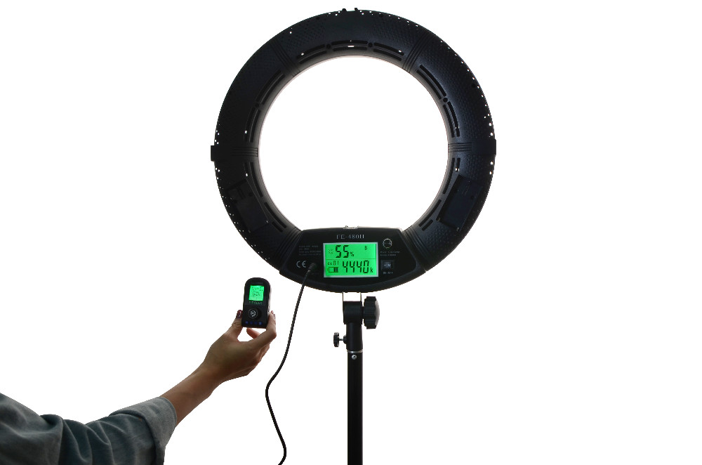 led luz de vídeo lâmpada fotográfica dia