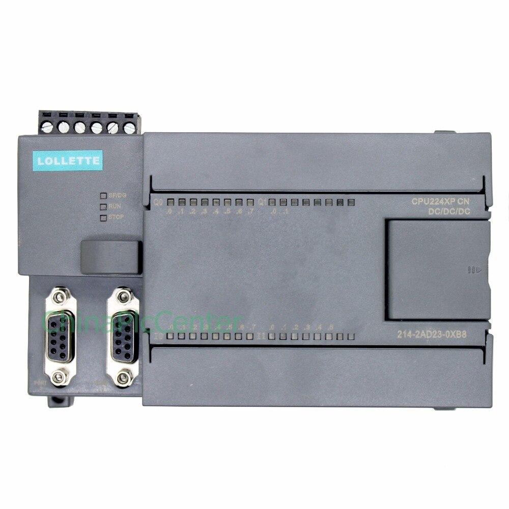PLC LE-200 CPU224XP DC/DC/DC 2AD1DA 14 port input 10 port Transistor output LES7 214-2AD23-0XB8 brand new 6es7214 2as23 0xb8 6es7 214 2as23 0xb8 with free dhl