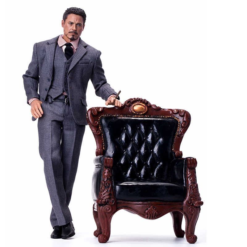1/6 BJD toy Sofa Model Executive Chair for 1/6 BJD dolls Scene Furniture DIY dollhouse toy doll house accesories decoration