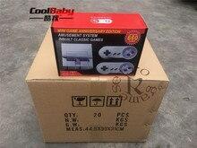 DHL 40 pçs/lote saída AV 660 jogo Clássico Retro Game Player Portátil Console Mini Família jogo de Vídeo TV com Dual Gamepad