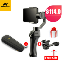 Портативный Freevision Vilta-M 3 оси ручной карданный ячейки стабилизатор телефона для iPhone X XS 8 samsung GoPro HERO 7 6 5