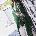 Новый Женский Шарф Национальный Стиль Зимой И Осенью Теплый Длинные Большой Мягкая Удобная Мода Шарфы Шали Обруча Для Леди