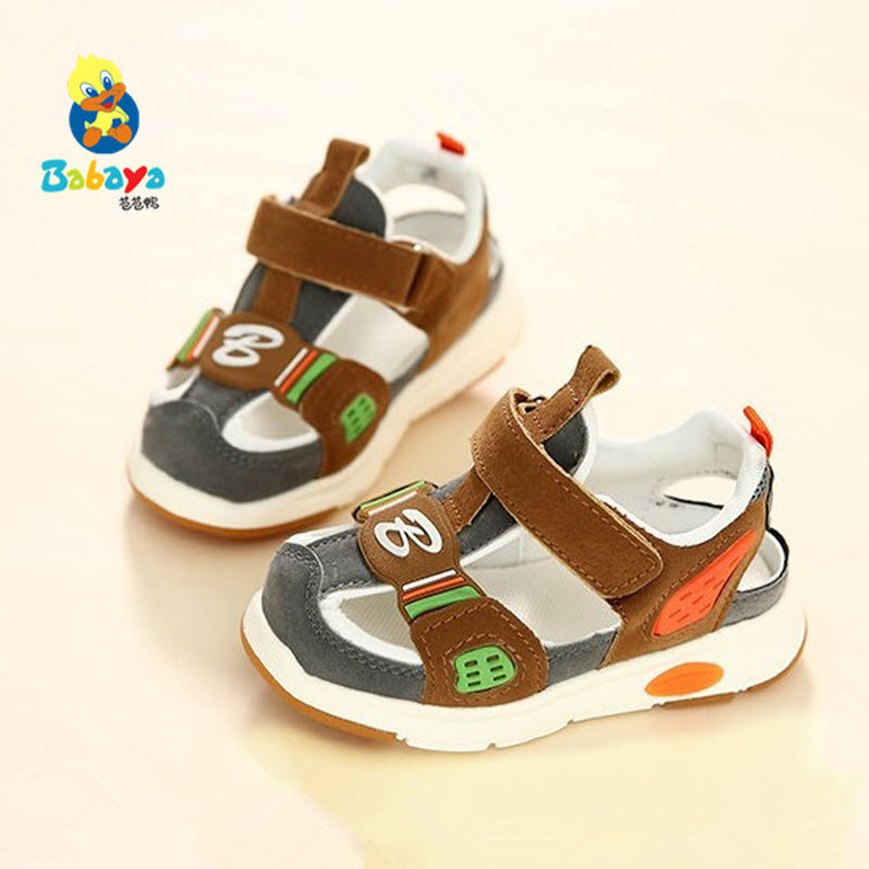 Babaya 2017 summer New Arrival Children sandals little low boys baby shoes sports boy beach shoes hollow casual shoes size 21-30  joyyou brand kids sandals baby boys girls beach sandals star rivets children shoes little boys summer shoes open toe sandalias