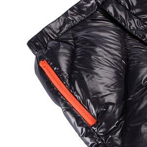 Image 5 - AEGISMAX Unisex 95% Piuma Doca Bianca di Imbottiture Pantaloni di Campeggio Esterna Pantaloni Impermeabile Goose Caldo Imbottiture Pantaloni 800FP