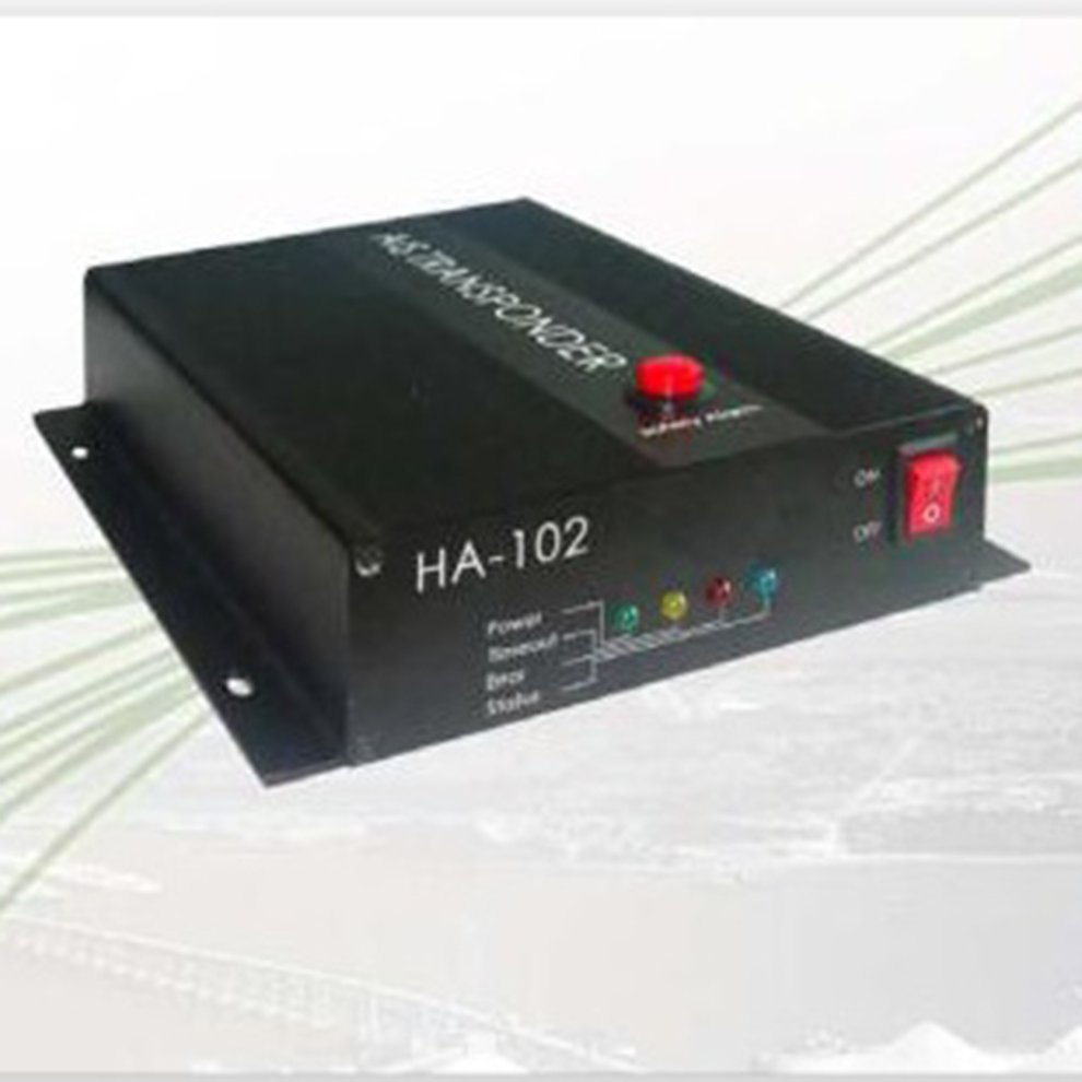 Matsutec HA-102 Marine AIS receiver and transmitter system CLASS B AIS Transponder Dual Channel Function CSTDMA Function(China)