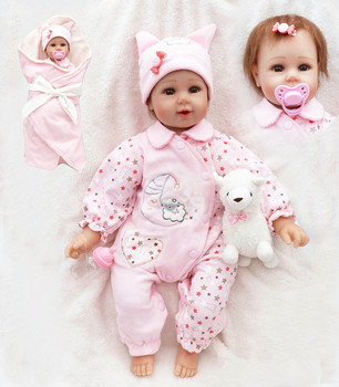 Newborn Princess Toddler Dolls Lovely Birthday Gift Girls