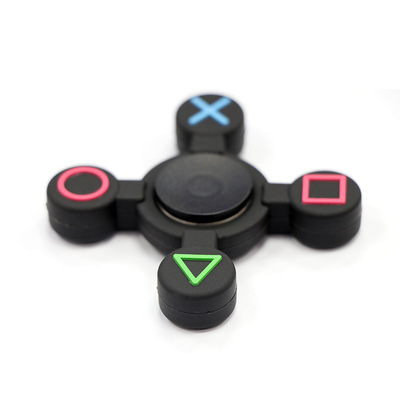 Hot! Detachable Game Button Fidget Spinner For Autism And ADHD Rotation Time Long Anti Stress Toys