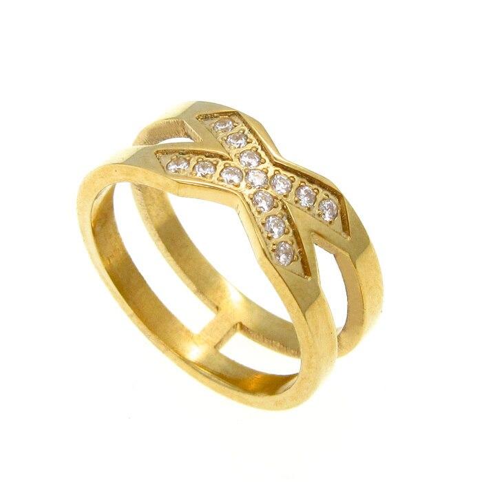 Modeschmuck gold ring  Gold Ring X Werbeaktion-Shop für Werbeaktion Gold Ring X bei ...
