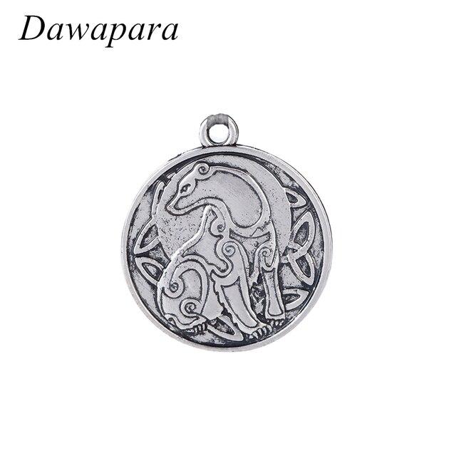 Dawapara Bear Animal Symbol Pendant Necklaces Accessories Antique