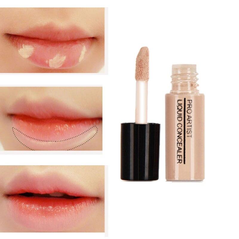 2 Color Professional Concealer Facial Liquid Lips