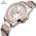 Megir люксовый бренд часы женщины полный нержавеющей стали золотые часы Montre роковой мода бизнес-водонепроницаемые любителя кварцевые - часы