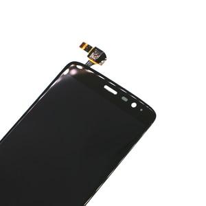 Image 2 - 5.5 inç LCD ekran için ZTE V8 PRO LCD cep telefonu aksesuarları Için ZTE Z978 dijital ekran 100% test iyi