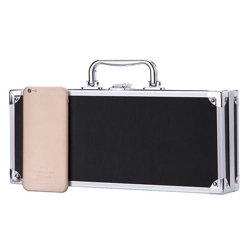 350x145x70 мм ящик для инструментов алюминиевый ящик для инструментов портативный ящик для инструментов чехол для хранения костюмов Чехол Органайзер для путешествий Чехол