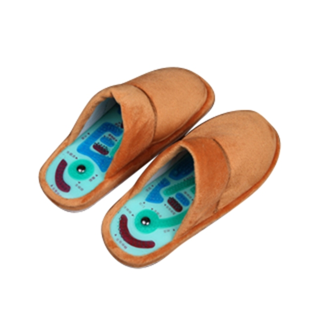 a8522b3b55f521 Acupressure Slippers Foot Massage Couples Home Interior Cotton Slippers Men  and Women Fall Winter Foot Soft Massage Shoes MP0037