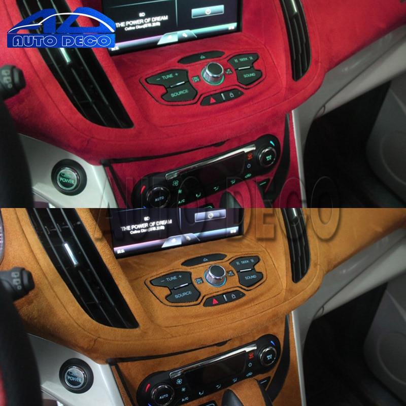 Red Suede Fabric velvet vinyl car wrap film decal Air Release Hot US 3m