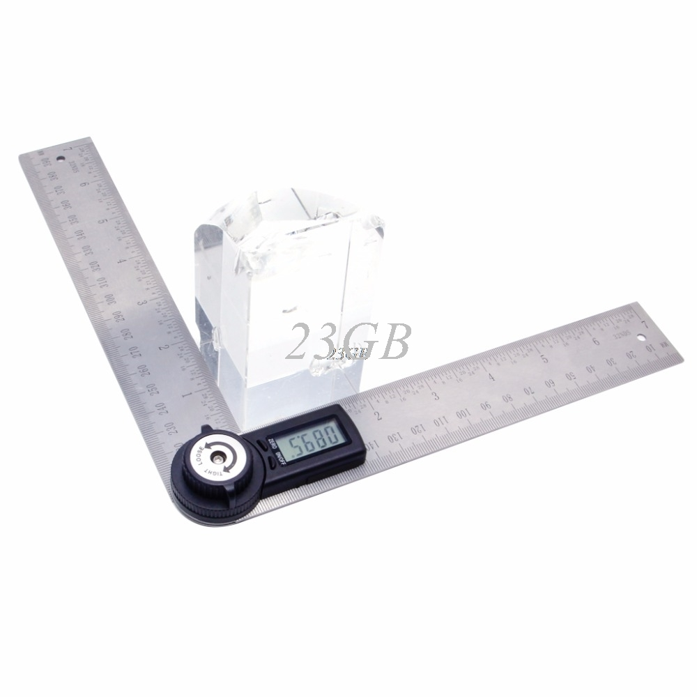 Digital Angle Ruler Protractor 2 In 1 360 Degree 200mm Electronic Meter Finder JUL03_20 gread a 14 lp140wd1 tpd1 fit b140rw01 v 2 ltn140kt02 for hp elitebook 8440p 1600 900 30pin edp led lcd screen panel