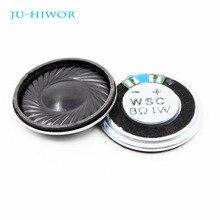 Mini haut-parleur rond, 1W, 8 Ohms, 8R, diamètre 30MM, épaisseur 5MM, 20 pièces