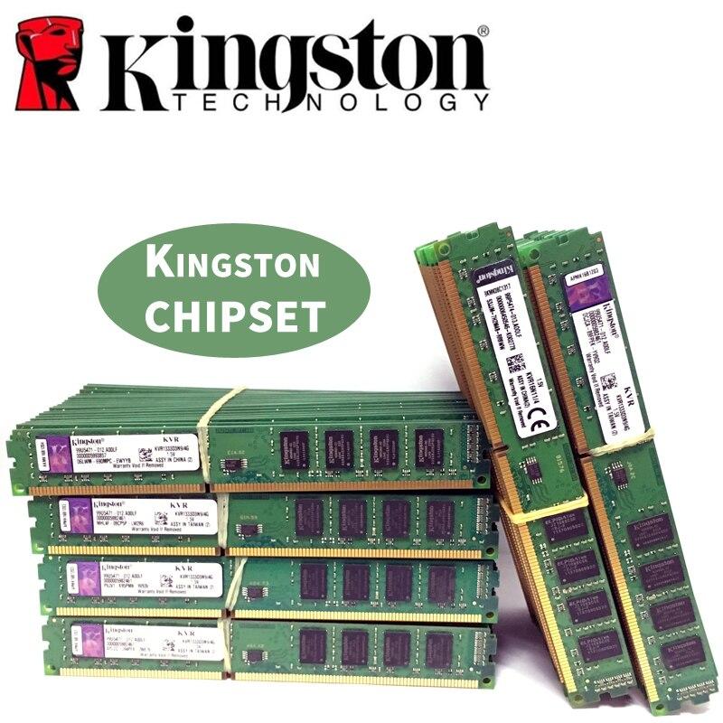 Kingston Ram DDR3 2 GB 4 GB PC3 1600 1333 MHz escritorio memoria 240pin 2G 4G 8g 1333 MHz 1600 MHz 10600 módulo 12800 DIMM