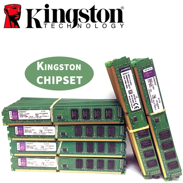 Kingston Ram DDR3 2GB 4GB PC3 1600 1333 MHz Desktop speicher 240pin 2G 4G 8G 1333mhz 1600mhz 10600 12800 Modul DIMM RAM