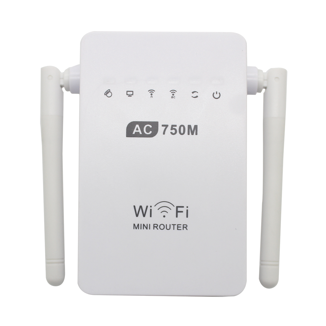 NOYOKERE 750Mbps Antenna Wifi Repeater Wireless Range Extender 802.11N Booster Signal Amplifier wlan EU/US