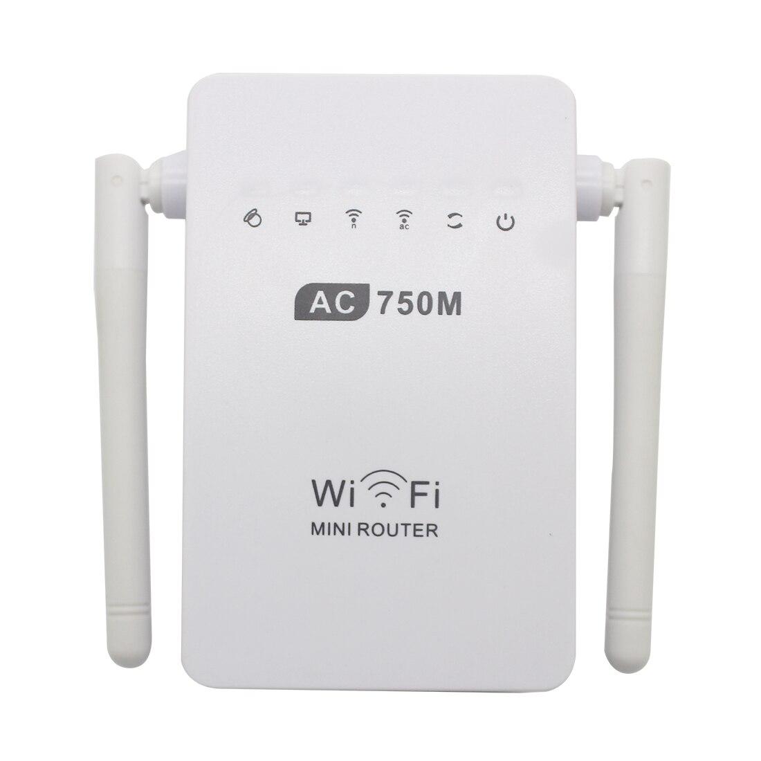NOYOKERE Hot Sale 750Mbps Antenna Wifi Repeater Wireless Range Extender 802.11N Booster Signal Amplifier wlan EU