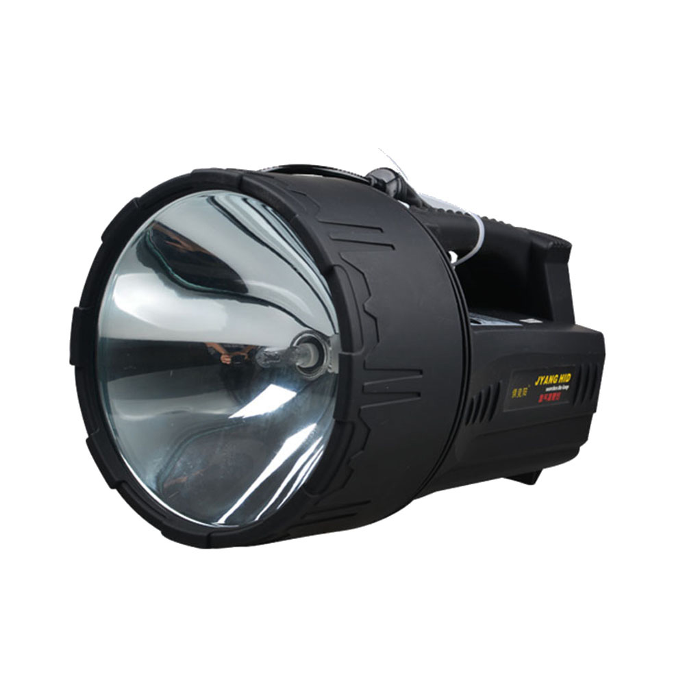 JUJINGYANG External 12V HID xenon Searchlight light remote hunting fishing 55W hernia lamp connected  outside