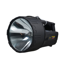 цена на JUJINGYANG External 12V HID xenon Searchlight light remote hunting fishing 55W hernia lamp connected  outside