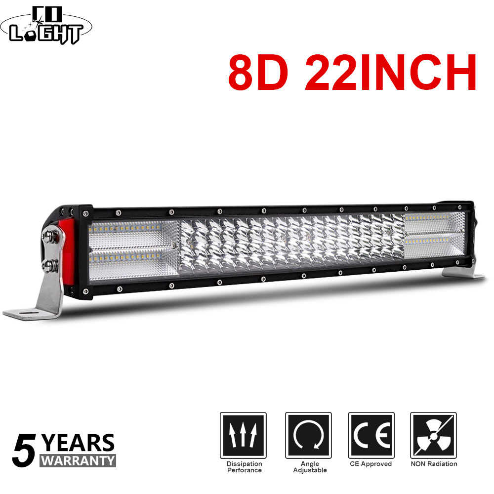 CO LIGHT 4-Rows 8D Offroad LED Light Bar 22