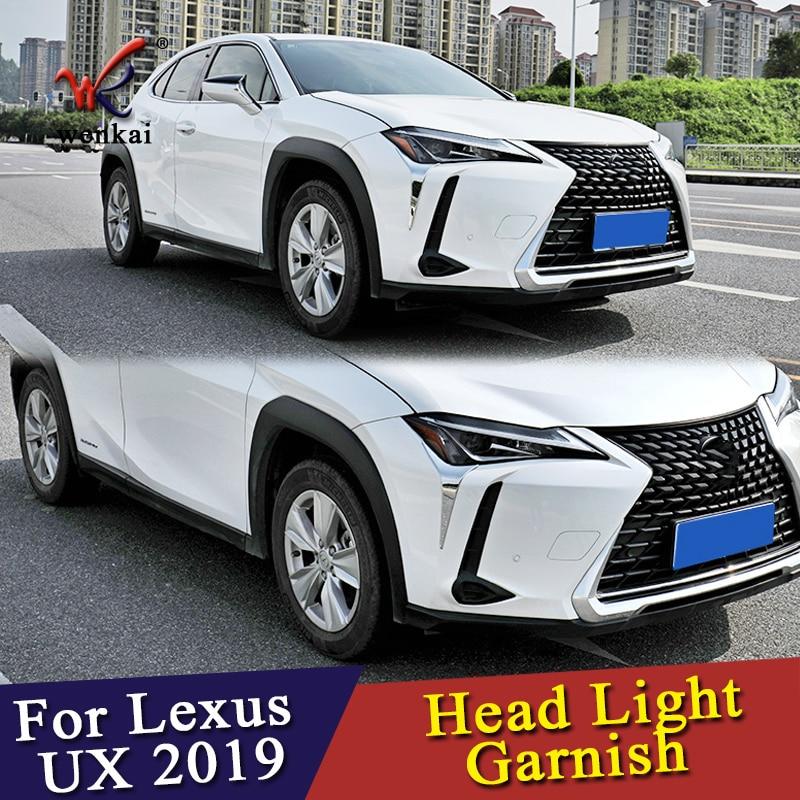 ABS Chrome Side Door Handle Cover Trim 4pcs FOR 2019 Lexus UX200 UX250h
