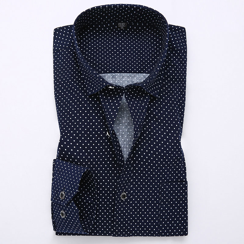 Polka dot dress shirts for men online shopping-the world largest ...