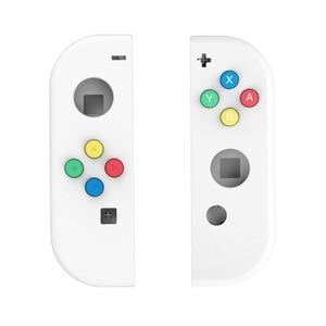 Image 2 - نينتندو سويتش Joy Con تحكم مقبض استبدال شل ل 4 اللون مفاتيح اليسار واليمين أزواج ABXY الاتجاهات مفاتيح أزرار