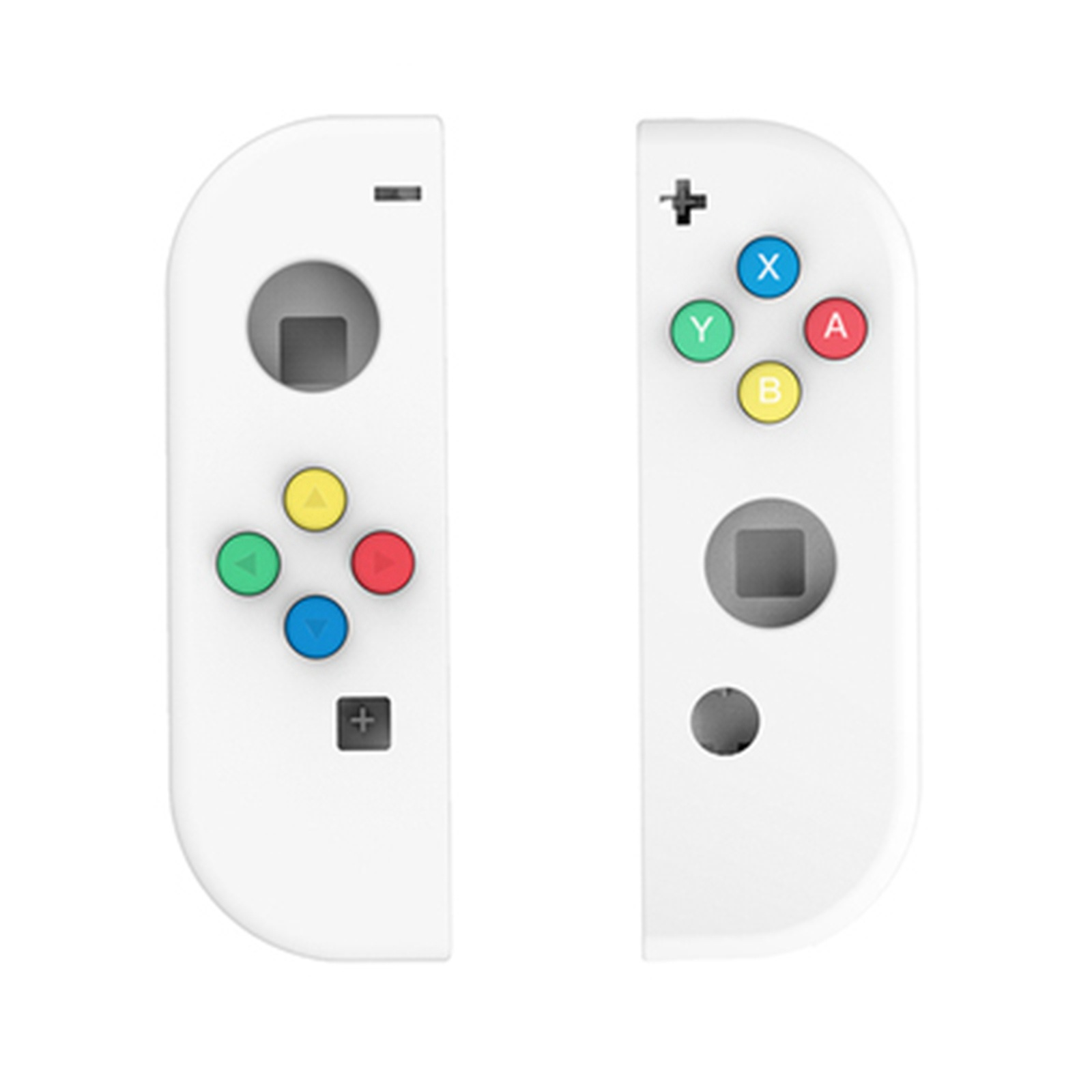 Image 2 - Nintendo Switch Joy Con Controller Handle Replacement Shell for 4 Color Keys Left and Right Pairs ABXY Directions Keys Buttons-in Replacement Parts & Accessories from Consumer Electronics