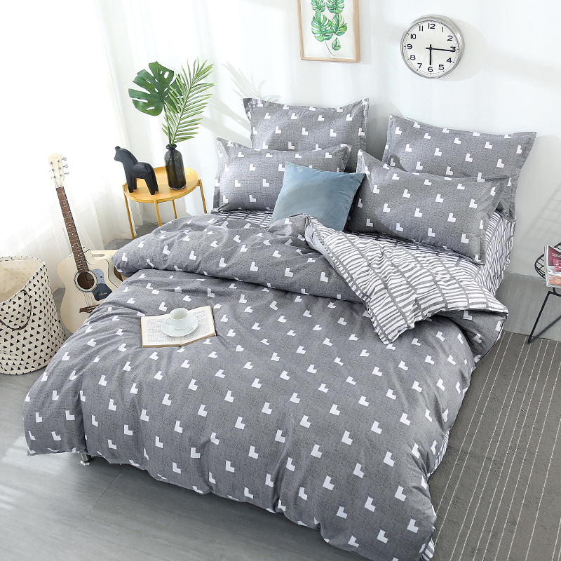 polyester cottoon bed sets bedding set king size Modern style duvet cover warm sheets/linen super soft ultra soft home textiles polyester cottoon bed sets bedding set king size Modern style duvet cover warm sheets/linen super soft ultra soft home textiles