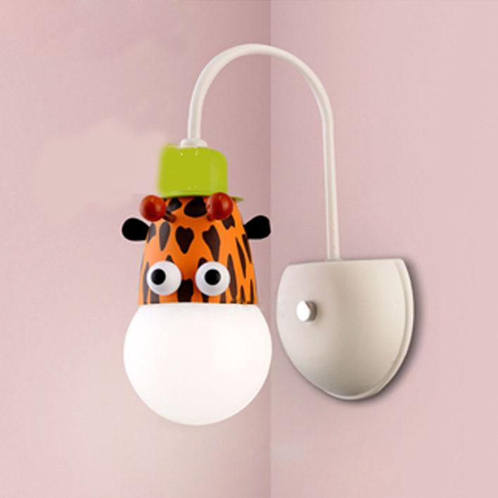 Popular Kids Wall Lights-Buy Cheap Kids Wall Lights lots from ...:Cartoon Animals Wall Lamps Indoor Lighting Zebra Monkey Giraffe Children  Kids Bedroom Wall Lights with Bulb,Lighting
