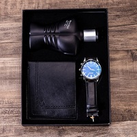 Men's gift set exquisite packaging watch + wallet perfume set foreign trade cool creative combination set watch