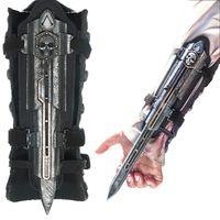 Hot Sales Assassins Creed 4 Assassins Creed Hidden Blade Brinquedos Edward Kenway Juguetes PVC Cosplay Action
