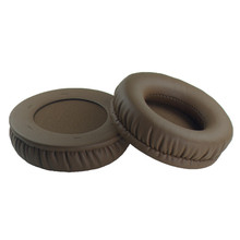 100mm Replacement Protein Leather Foam Ear Pads Cushions for ZKLLI ZH600D Headphones 9.25