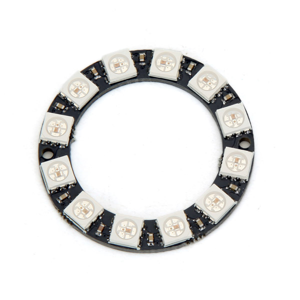 New Arrival RGB LED Ring 12 Bits WS2812 5050 RGB LED With Integrated Driver Module For Arduino