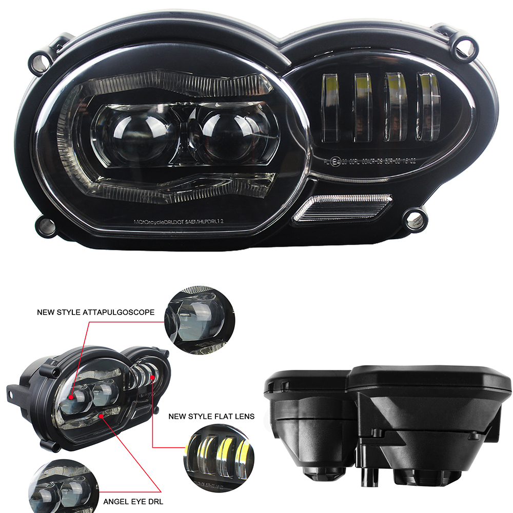 Motorcycle light 110W LED Front Headlight For BMW R1200GS adv 2004 2005 2006 2007 2008 2009 2010 2011 2012 fit oil coolerMotorcycle light 110W LED Front Headlight For BMW R1200GS adv 2004 2005 2006 2007 2008 2009 2010 2011 2012 fit oil cooler