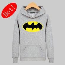 Handsome Batman Symbol 2017 Hot Sale Mens Hoodies and Sweatshirts 2017 in Street wear Cotton harajuku Sweatshirt Men xxl